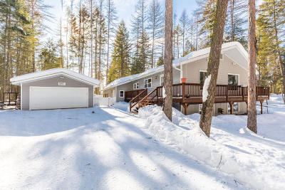Flathead County Single Family Home For Sale: 287 South Many Lakes Drive
