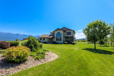 Polson MT Single Family Home For Sale: $499,900