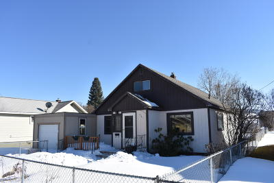 Missoula Single Family Home For Sale: 1921 South 9th Street West