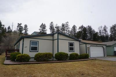 Kalispell MT Single Family Home Under Contract Taking Back-Up : $159,500