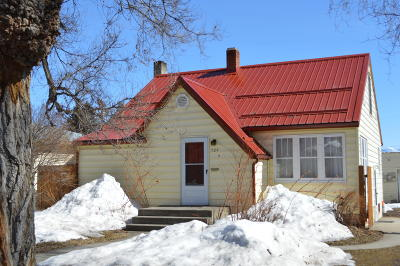 Kalispell Single Family Home Under Contract Taking Back-Up : 729 7th Avenue East