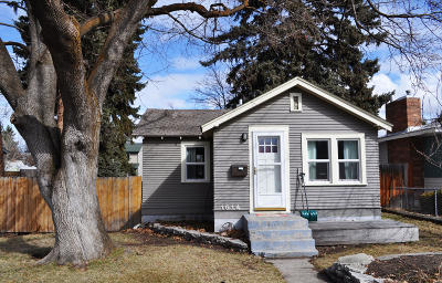 Missoula Single Family Home For Sale: 1614 South 9th Street West