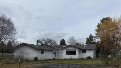 Butte Single Family Home For Sale: 915 Three Mile Creek Road