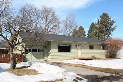 Missoula Single Family Home For Sale: 3315 Washburn Street