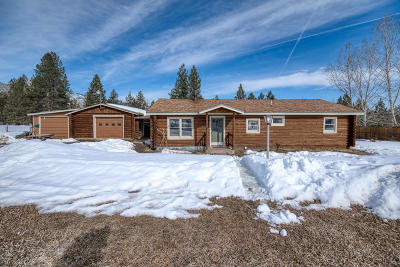 Hamilton Single Family Home For Sale: 1114 Cb Lane