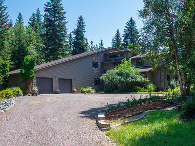 Bigfork Single Family Home Under Contract Taking Back-Up : 12062 Halversen Drive