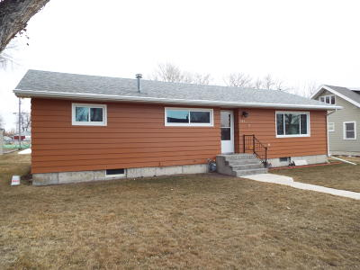 Choteau Single Family Home For Sale: 717 8th Avenue North West
