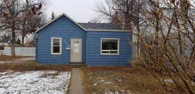 Cut Bank MT Single Family Home For Sale: $49,500