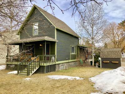 Columbia Falls Single Family Home Under Contract Taking Back-Up : 735 3rd Avenue East