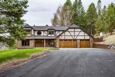 Kalispell Single Family Home Under Contract Taking Back-Up : 415 Lake Hills Lane