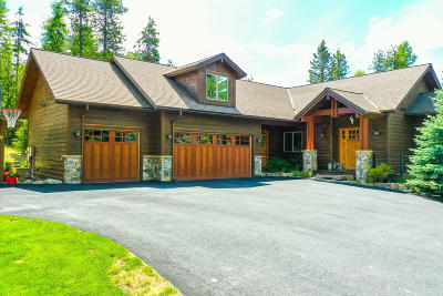 Whitefish Single Family Home For Sale: 3119 Snowghost Drive