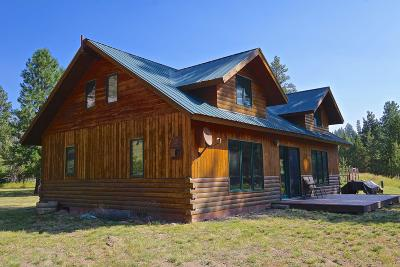 Missoula County Single Family Home Under Contract Taking Back-Up : 48255 North Sperry Grade Road