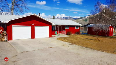 Missoula County Single Family Home Under Contract Taking Back-Up : 400 River Drive