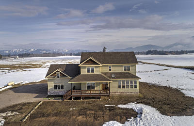 Columbia Falls, Hungry Horse, Martin City, Coram Single Family Home Under Contract Taking Back-Up : 665 Sullivan Crossroad