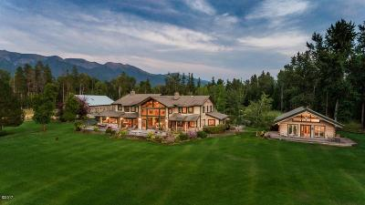 Flathead County Farm & Ranch Under Contract Taking Back-Up : 1015 Eastman Drive
