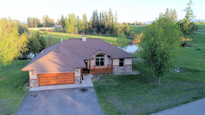 Kalispell Single Family Home Under Contract Taking Back-Up : 312 Stillwater Loop