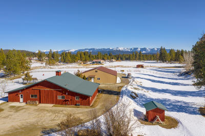 Kalispell Single Family Home Under Contract Taking Back-Up : 330 Lore Lake Road