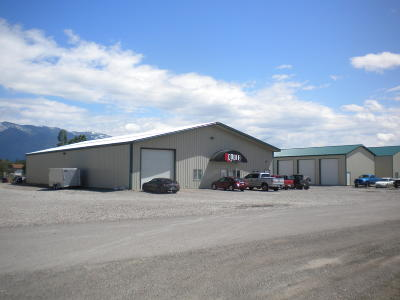 Columbia Falls Commercial For Sale: 109 Canyon View