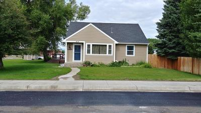 Choteau Single Family Home For Sale: 210 7th Avenue North West