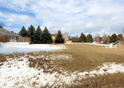 Kalispell Residential Lots & Land Under Contract Taking Back-Up : 281 Dairy Drive