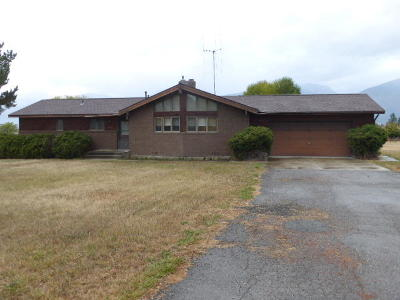 Florence MT Single Family Home For Sale: $279,000
