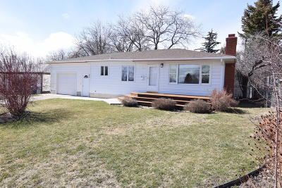 Great Falls Single Family Home Under Contract Taking Back-Up : 105 Riverview D