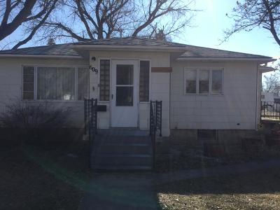 Conrad Single Family Home For Sale: 609 South Wisconsin Street