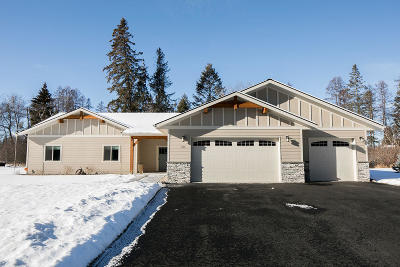 Kalispell Single Family Home Under Contract Taking Back-Up : 314 Soaring Pines Trail