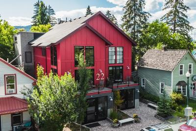 Whitefish Single Family Home Under Contract Taking Back-Up : 22 Lupfer Avenue