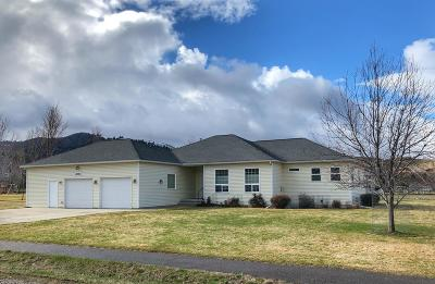 Missoula Single Family Home Under Contract Taking Back-Up : 3071 Brushpopper Lane