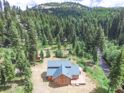 Lincoln County Single Family Home For Sale: 1498 Elk Mountain Road