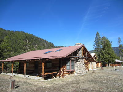 Ravalli County Single Family Home For Sale: 1461 Hughes Creek Road