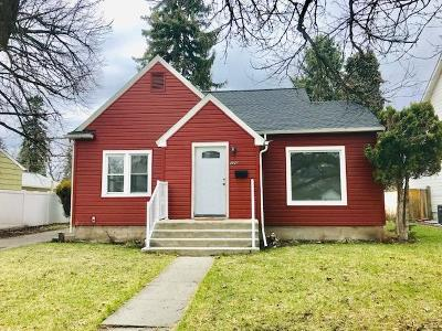 Missoula Single Family Home Under Contract Taking Back-Up : 326 East Kent Avenue