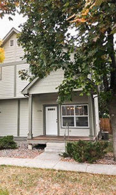 Missoula Single Family Home Under Contract Taking Back-Up : 2134 South 6th Street West