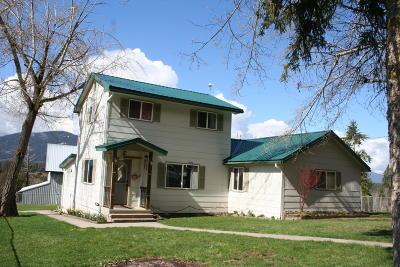 Thompson Falls Single Family Home For Sale: 788 Blue Slide Road