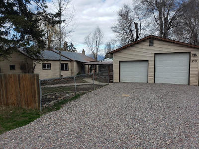 Kalispell Single Family Home Under Contract Taking Back-Up : 23 Willow Drive