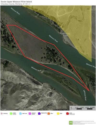 Fort Benton Residential Lots & Land For Sale: S11/S12 Upper Missouri River