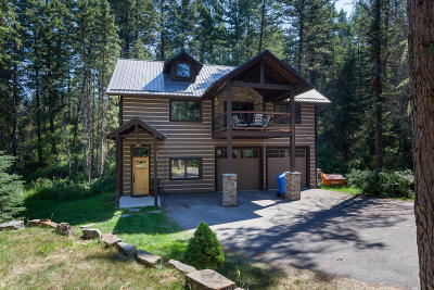Whitefish Single Family Home Under Contract Taking Back-Up : 195 Sapphire Court