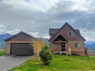 Flathead County Single Family Home For Sale: 758 Fox Den Trail