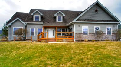 Missoula MT Single Family Home For Sale: $559,900