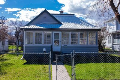 Flathead County Single Family Home Under Contract Taking Back-Up : 228 4th Avenue East