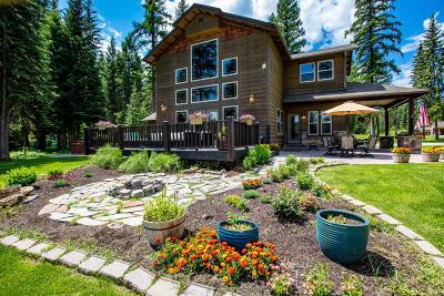 Whitefish Single Family Home For Sale: 500 Tamarack Creek Road