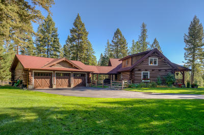Whitefish Single Family Home For Sale: 85 Penney Lane
