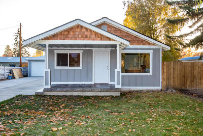 Flathead County Single Family Home Under Contract Taking Back-Up : 123 Park Avenue