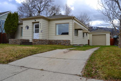 Missoula Single Family Home For Sale: 421 North Avenue East