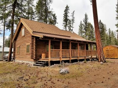 Seeley Lake MT Single Family Home For Sale: $195,000
