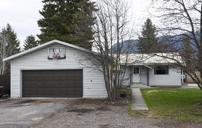 Columbia Falls Single Family Home Under Contract Taking Back-Up : 1135 5th Avenue West