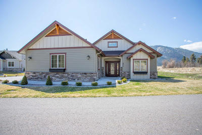 Missoula County Single Family Home For Sale: 401 Cahill Rise