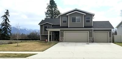 Kalispell Single Family Home Under Contract Taking Back-Up : 1124 Clark Fork Drive