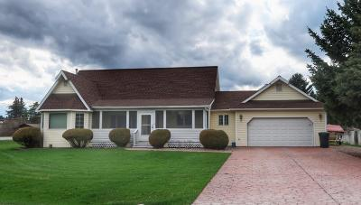 Kalispell Single Family Home Under Contract Taking Back-Up : 7 West View Drive